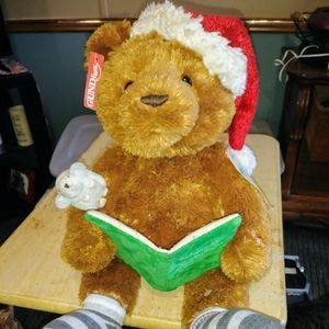 Gund Animated Christmas Storytime Bear